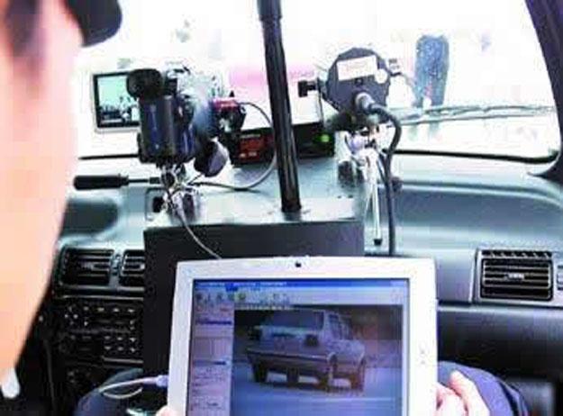 移动电子警察系统